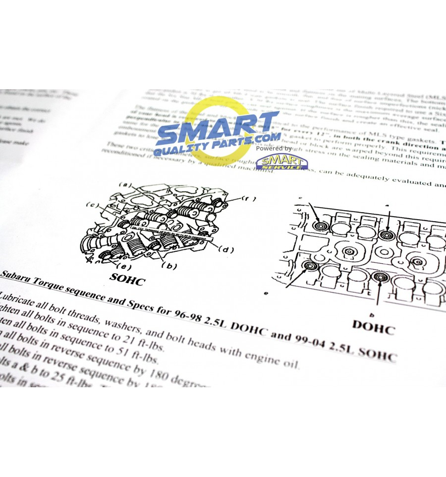 build your own subaru head gasket kit