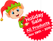 Free Shipping on All Orders Thru Dec 31st